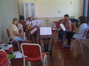 Workshop da Invicta Big Band com Hugo Gama