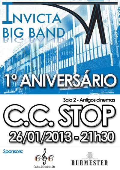 Concerto de 1º Aniversário da Invicta Big Band